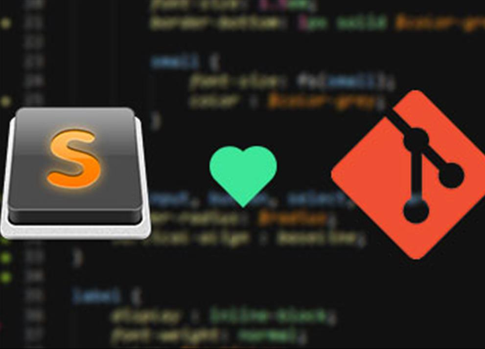 Git y Sublime Text, la pareja perfecta