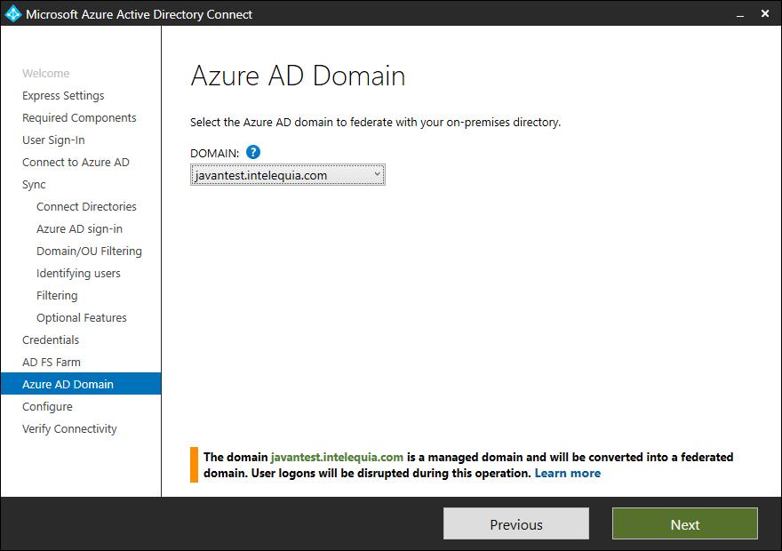 dominio azure active directory