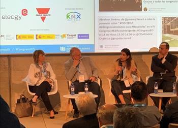 Carmen Martín participa en el V Congreso de Edificios Inteligentes
