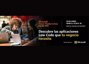 No te pierdas el Microsoft Power Platform Fest España 2021