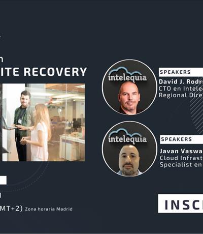 Formación Intelequia: Todo sobre Azure Site Recovery